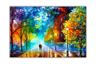 AT54378D Freshness Of The Cold by Leonid Afremov Re-Print Abstract Poster