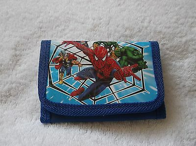 NEW Superhero SPIDERMAN KIDS COIN Purse WALLET Unwanted Party Bag Gift Blue B