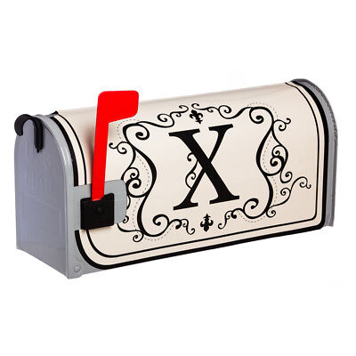 Evergreen Monogram X Magnetic Mailbox Cover