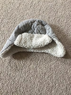 Baby Boys Warm Grey Hat 0-3 Months