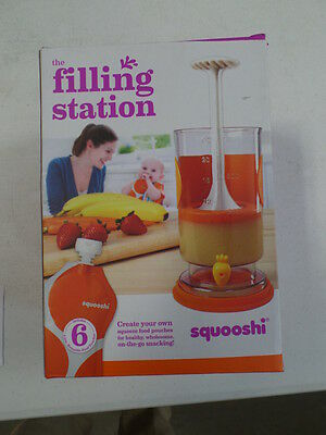 Squooshi Filling Station + New Family Starter Kit   Squooshi Reusable Food Pouch