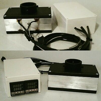 """4""""x7"""" Rosin Pressing plates with Dual Controller"""