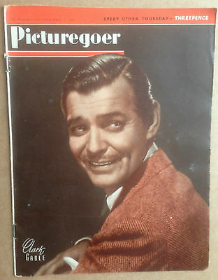 PICTUREGOER FILM MAGAZINE Dated: August 17th 1946 Barbara Stanwyck, Eric Portman