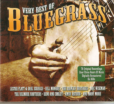 The Very Best Of Bluegrass - 75 Original Recordings 3CD 2010 NEW/SEALED