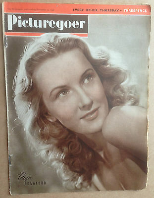 PICTUREGOER FILM MAGAZINE Dated: Nov 23rd 1946 Frank Sinatra, William Hartnell