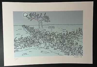 Signed and numbered v. limited edition A4 art print 'At the Crossroads'