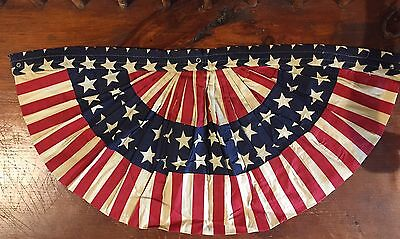 Red, White & Blue Large Star Bunting -100% Cotton