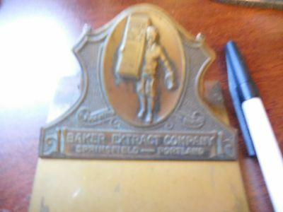Baker Extract Brass Clip board