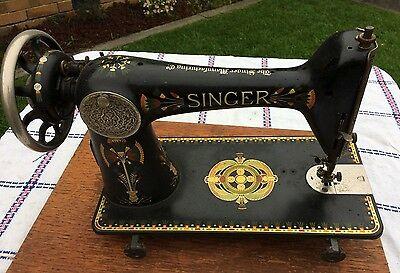 Antique Singer Sewing Machine from Treadle - can be posted