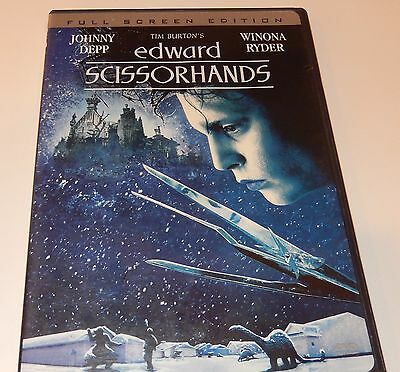 Edward Scissorhands (DVD, 1990) FS
