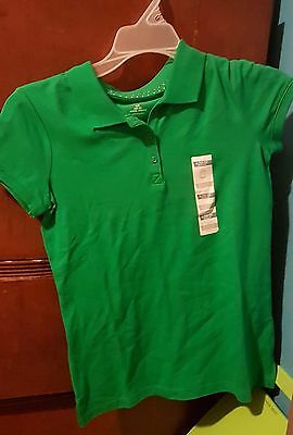 Girls old Navy, size large, school polo