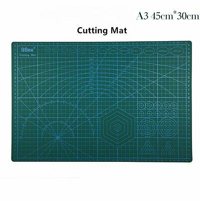 PVC A3 5Ply Double Sided Eco Friendly Durable Cutting Mat Mouse Pad 45x30CM