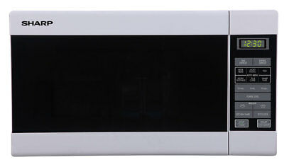 NEW Sharp - R210DW - Compact Microwave Oven from Bing Lee