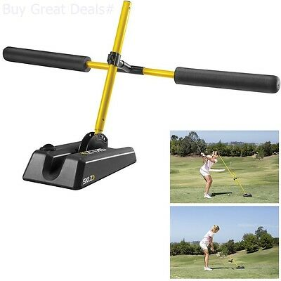Golf Swing Trainer Indoor Practice Power Strength Tempo Whip Flex Training Aid