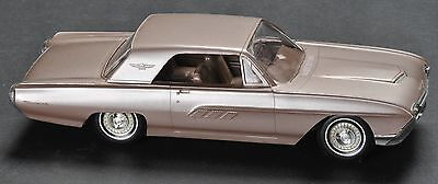 Ford Thunderbird 1963 Dealer Promo Plastic Model Car