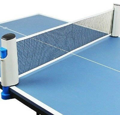 Table Tennis Sports Plastic Table Ping Pong Indoor Outdoor Portable Mesh Nets