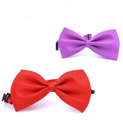 3PCS/Set Baby Boy Kid Child Infant Solid Color Wedding Tuxedo Bowties Bow Tie