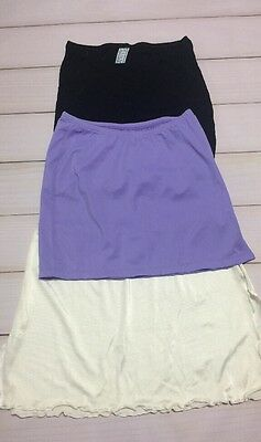 Sexy Women's Beach Mini Skirts Purple White Black In Size S Lot Of 3 Hot New Us