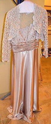 David's Bridal Mother Of The Bride/groom Dress Size 10 Beautiful
