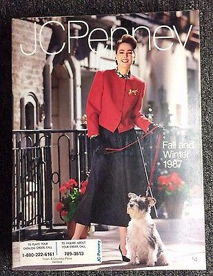 1987 Fall Winter JCPenney Catalog * Vintage 80's Fashion Home Decor Wish Book