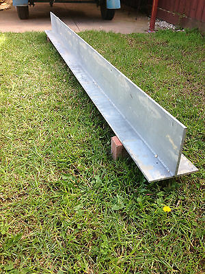 Galvanized Lintel 2835 x 200 x 200 For a 2.4m brick opening,