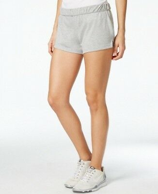 Energie NEW Heather Gray Womens Size Medium M Pull-On Stretch Casual Shorts 718