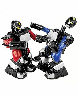 Platinum Collection NEW Red Blue Remote Two-Player Battle Boxing Robots $60 220