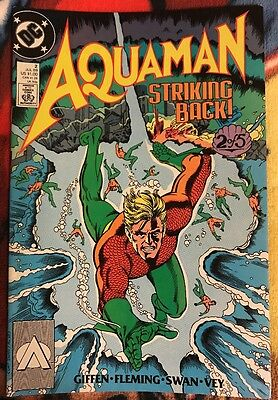DC AQUAMAN (1989 Series) 2 VF/NM ***$3.98 UNLIMITED SHIPPING***