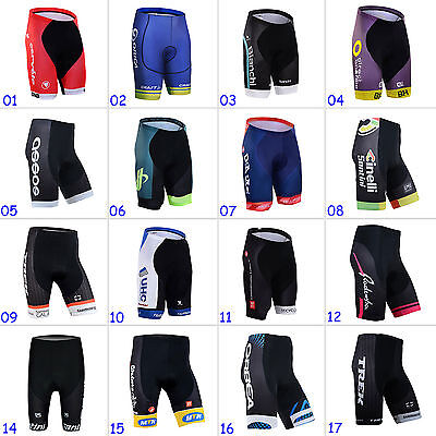 2017 New Fashion Men's Cycling Shorts MTB Bike Bicycle Short Pants Trousers Hot