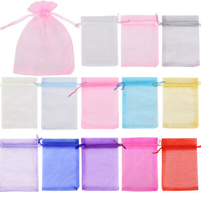 15x20cm Organza Gift Bags Luxury Wedding Party Favour Jewellery Packing Pouches