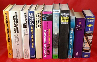 12 x Science Fiction - SF im HARDCOVER - Star Trek Sammlung Paket Wüstenplanet