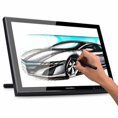 """Huion GT-190 19"""" Art Drawing Graphics Monitor Tablet Display For Design AU Ship"""