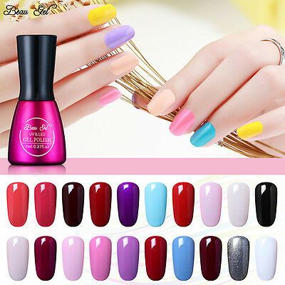 Beau Gel Vernis à Ongles UV LED Gel Nail Polish Manicure Semi Permanent 7ml