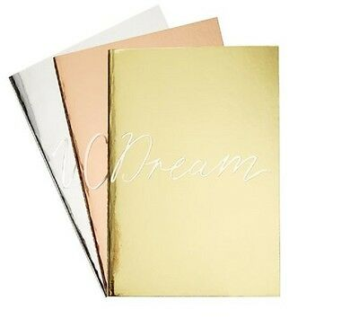KIKKI K SVENSKA HEM METAL A5 set of 3 notebooks - fit inside large planner
