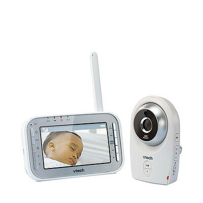 Vtech Safe & Sound White Noise Video Baby Monitor - BM4400 - UK Plug - NEW