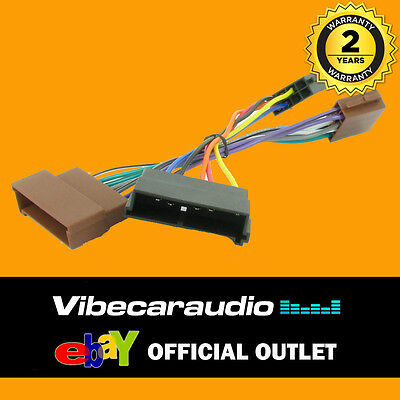 WIRING HARNESS ADAPTOR For Audi A2,A3,A4,A6,A8 Half ... on