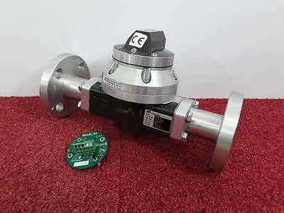 Macnaught 6-1320LPM Fuel & Oil Turbine Flow Meter F025-1S1 With Spare MS430-R4