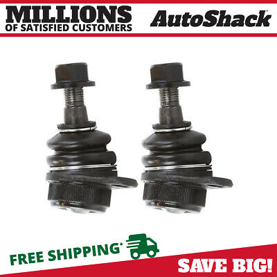 New Front Pair of (2) Lower Ball Joints Package Kit fits 2003-2014 Volvo XC90