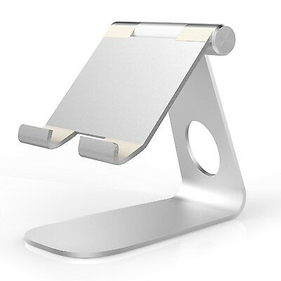 "Apple iPad Pro Universal 9.7""-12.9"" Multi-Angle Silver Aluminum Tablet Stand New"