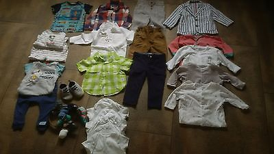Bundle of baby boys clothes size 12-18 designer brands! Ted Baker, Next,26 items