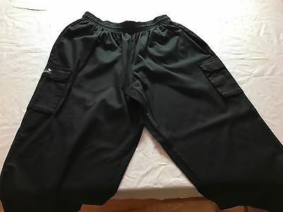 FAME CHEF WEAR ~ Men's XL ~ Vintage NOS ~ Made in USA ~ Checkered Chef Pants