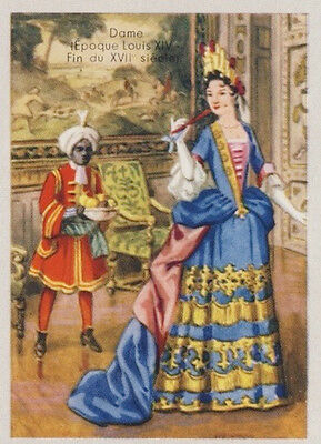 Dame Robe  Epoque Louis Xiv Fin  Xvii Eme Siecle  France  Image Costume 1951
