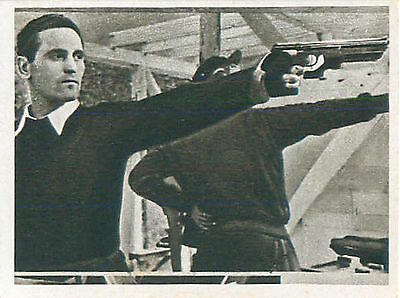 N°75 CARD IMAGE Shooting Karoly Takacs Hungary Olympic Games 1952