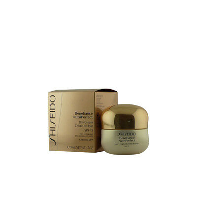 Cosmética Shiseido mujer BENEFIANCE NUTRIPERFECT day cream SPF15 50 ml