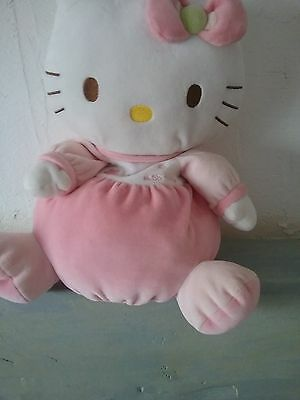 Peluche Rangement Doudou Hello Kitty 35 Cm