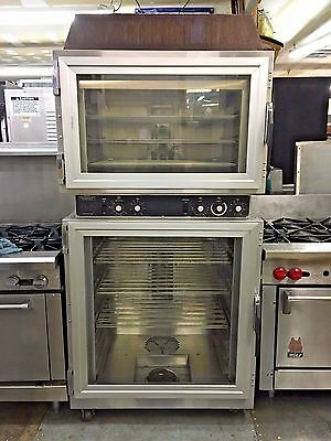 Duke Ahpo-6/18 Convection Oven & Proofer 12 Pans Commercial Baking Double Stack