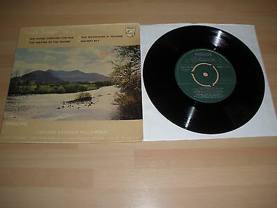 "Father Sydney Macewan 7"" Vinyl P/s Irish Songs Vol. 2 Phillips 1958 Ex """