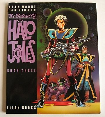 2000AD GRAPHIC NOVEL - THE BALLAD OF HALO JONES *  BOOK THREE * free P&P