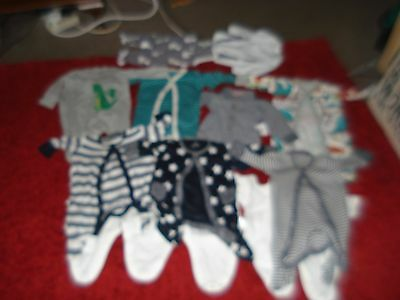 Boys Baby Bundle, New Born And Up To 1 Month, Excellent Condition