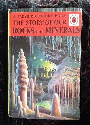 Vintage Ladybird Book - THE STORY OF OUR ROCKS AND MINERALS - 2'6 Edition